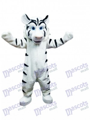 White Tiger Mascot Costume Animal