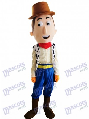 Dick Cowboy Woody Cartoon Character Mascot Costume