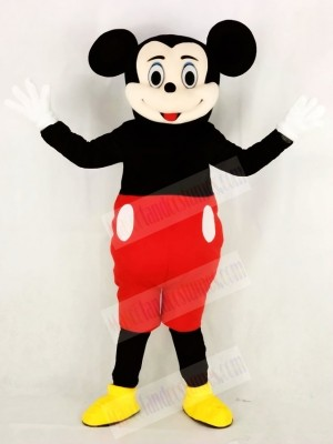 Funny Mickey Mouse Mascot Costume Cartoon