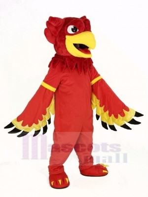 Red Eagle Gryphon Mascot Costume