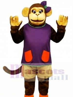 Wackie Jackie with Shorts & Shirt Mascot Costume Animal