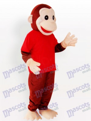 Happy Monkey Animal Funny Mascot Costume