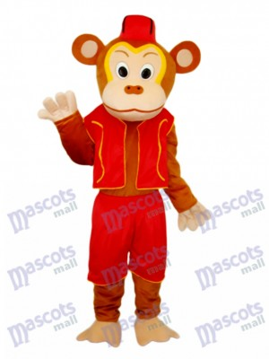 Clown Monkey Mascot Adult Costume Animal