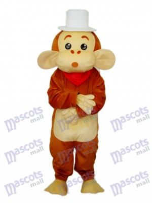 Cap Monkey Mascot Adult Costume Animal