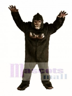 Cute Deluxe Gorilla Mascot Costume Animal