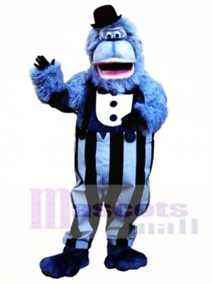Cute Alfred Ape Mascot Costume Animal