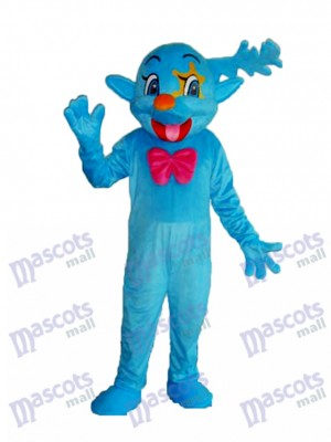 Blue Fairy Mascot Adult Costume Cartoon Anime
