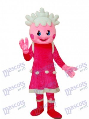 Pretty Princess Mascot Adult Costume Cartoon Anime