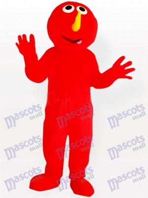 Red Devil Party Adult Mascot Costume