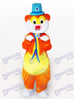 Blue Hat Mouse Animal Mascot Costume
