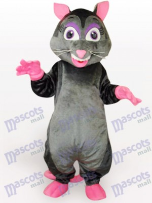 Black Mouse Animal Mascot Costume