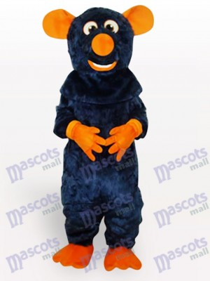 Big Tooth Black Animal Mouse Adult Mascot Costume