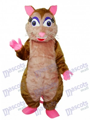 Vole Mascot Adult Costume Animal