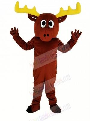 Cute Reindeer Mascot Costume Animal