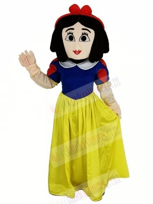 Snow White Mascot Costume Cartoon