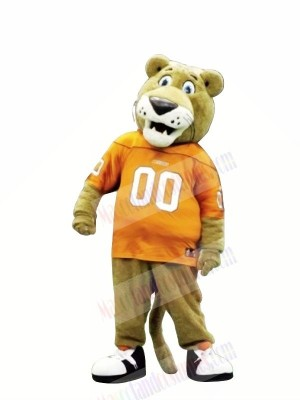 Sports Brown Lion Mascot Costumes