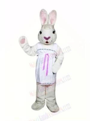 Female Easter Bunny Mascot Costumes