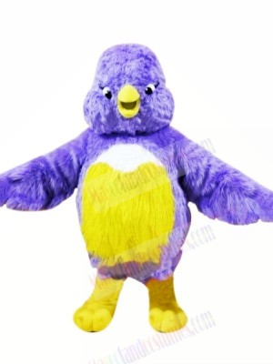 Fat Bird with Small Eyes Mascot Costumes Animal