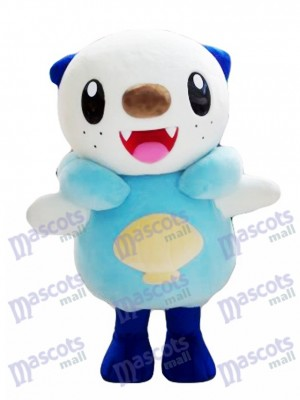 Oshawott Mascot Costume Pokemon Pokémon GO Water Type Pocket Monster Sea Otter Mascot