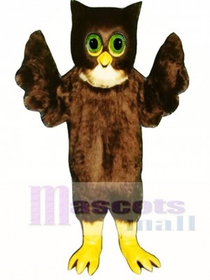 Cute Wise Owl Mascot Costume