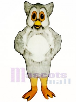 Cute Spotted Owl Mascot Costume