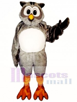 Cute Mr. Owl Mascot Costume