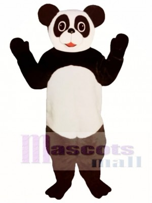 Patty Panda Mascot Costume