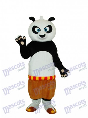 Kung Fu Panda Mascot Adult Costume Animal Cartoon