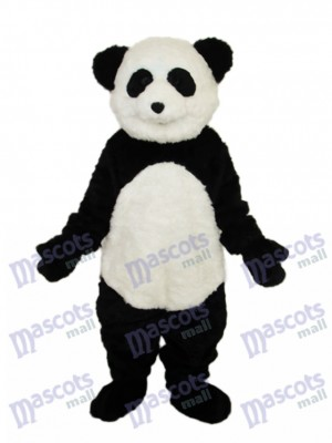 Smile Panda Mascot Adult Costume