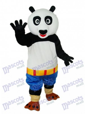Kung Fu Panda Blue Shorts Mascot Adult Costume Animal