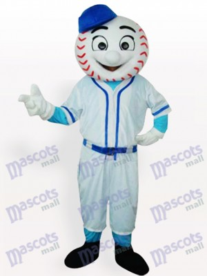 Mr. Met Mets Baseball Man Adult Mascot Funny Costume