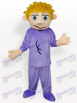 Boy Anime Adult Mascot Costume