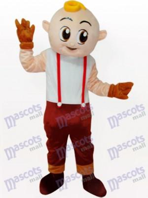 Boy Cartoon Adult Mascot Costume