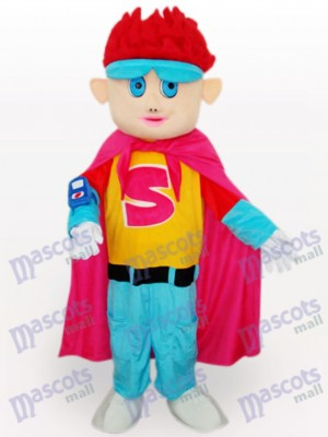 Red Hair Boy Cartoon Adult Mascot Costume