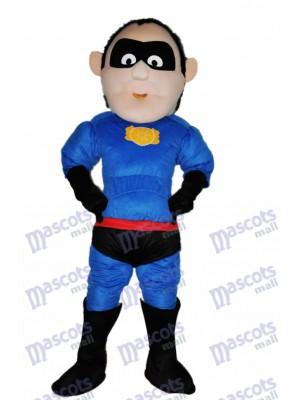 Superman Adult Mascot Costume Cartoon People
