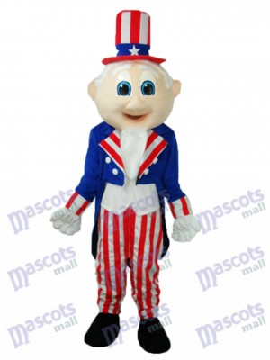 Uncle Sam Mascot Adult Costume Cartoon People