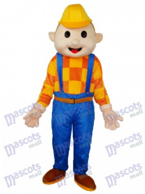 Bob the Builder Construction Workers Mascot Adult Costume Cartoon People