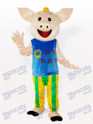 Mr.CoCo Pig Animal Adult Mascot Costume