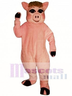 Cute Penelope Pig Mascot Costume Animal