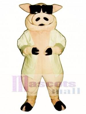 Heavy Hog Pig Piglet Mascot Costume Animal