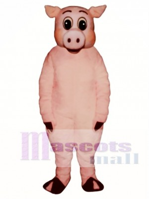 Cute Oinker Pig Hog Mascot Costume Animal