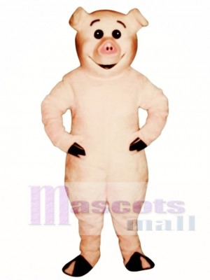 Cute Piglet Pig Mascot Costume Animal