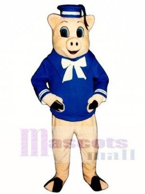 Straw Pig Mascot Costume Animal