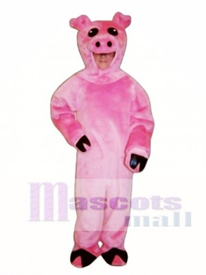 Cute Pig Mascot Costume Animal
