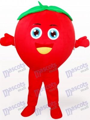 Smiling Tomato Fruit Adult Mascot Costume