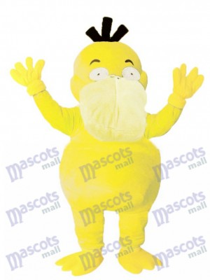 Psyduck Mascot Costume Pokemon Pokémon GO Duck Pocket Monster Platypus Mascot