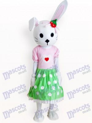 Easter Bunny Rabbit Animal Adult Mascot Costume
