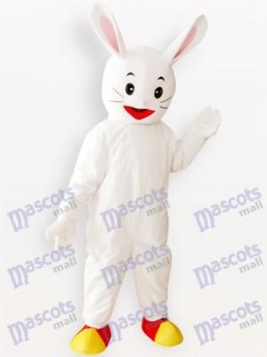 White Easter Bunny Rabbit Animal Adult Mascot Costume