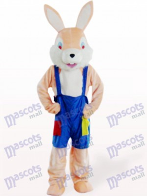 Easter Pink Funny Rabbit Animal Mascot Costume