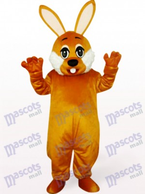 Easter Brown Bunny Animal Mascot Costume